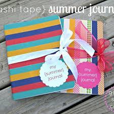 snap crafts washi summer journals tutorial