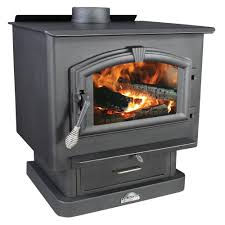 us stove 2 500 sq ft epa certified wood burning stove with