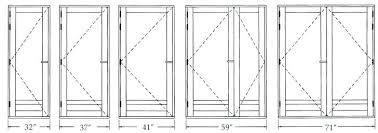 Closet Door Measurements Standard Bedroom Door Height Interior Door Dimensions Standard