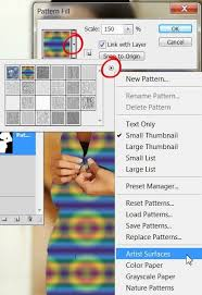 change clothes with a pattern fill in photoshop u2014 sitepoint