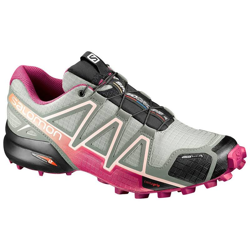 Salomon Speedcross 4 CS Trail Running Shoe Shadow/Sangria/Peach Nectar 5.5 US Regular L39240600-5.5