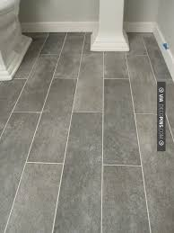 modest decoration grey floor tile bathroom shining inspiration