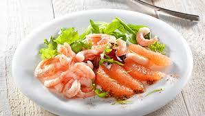 paul bocuse recettes cuisine recette salade de plemousse et crevettes recette institut