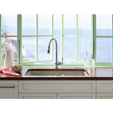 upscale kitchen faucets kohler k 99259 cp artifacts polished chrome pullout spray kitchen
