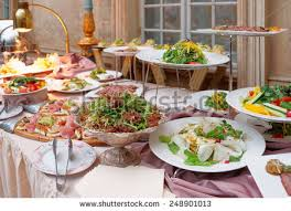 table full of food catering table full food no people stock photo 248901013 shutterstock