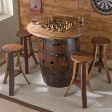 Game Table Plans Bar Stools Wine Barrel Bar Stool Plans Dining Table Transitional