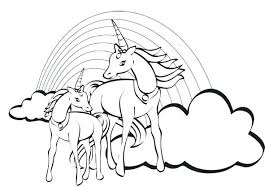 coloring pages of unicorns and fairies coloring page of a rainbow rainbow magic fairy coloring pages