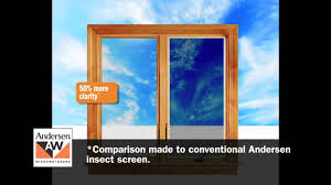 Anderson Replacement Screen Door by Andersen Insect Screen Buying Guide For Windows Youtube
