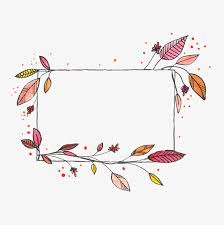 Decorative Frame Png Hand Painted Watercolor Vector Decorative Frame Hand Painted