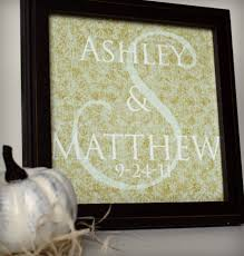 monogrammed wedding gifts wedding gift idea
