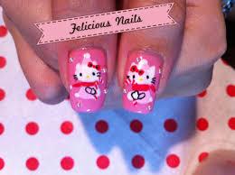 hello kitty christmas nails felicious nails