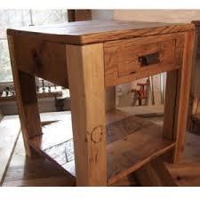 Parsons Nightstand Reclaimed Wood Living Room Tables U2013 The Oak Furniture Shop