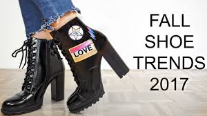 womens boots trends 2017 fall shoe trends 2017