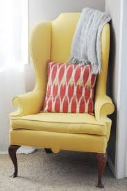 Yellow Bedroom Chair Design Ideas Vintage Velvet Mustard Yellow Wingback Chair Forget Photography