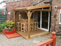 Lean To Pergola Kits by Gazebos Thatched Roof Pavillions Tub And Spa Shelter Thatched