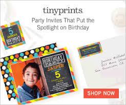 fun and creative birthday invitations