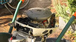 johnson evinrude 15 hp 1982 idle problem reed valve youtube