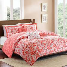 Coastal Quilts Beach Themed Bedding Coral Nauticial Bedroom With Coral Lamps