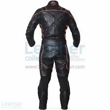 leather racing jacket shop online x men motorcycle racing leather suit with orange piping fo