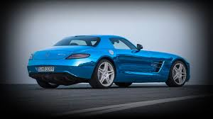 electric sports cars the sls amg electric drive