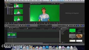 how to use a green screen in final cut pro x chromakeying youtube
