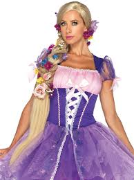 Elsa Halloween Costume Adults Rapunzel Wig Accessories U0026 Makeup