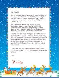 father christmas letter reply template business template