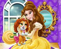 belle palace pets game play princess games net