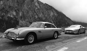 aston martin classic convertible wallpaper trees mountains monochrome road mist old car