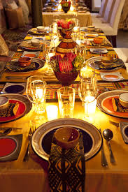 African Themed Home Decor by Table Set Up With An African Theme Function Ideas Pinterest