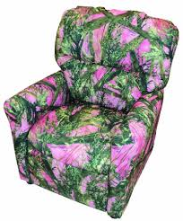 Youth Recliner Chairs Furniture Mossy Oak Recliner Camouflage Recliner Camouflage