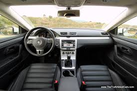 volkswagen sedan interior review 2013 volkswagen cc the truth about cars