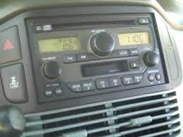 04 honda pilot radio code honda pilot car stereo removal and repair 2003 2005