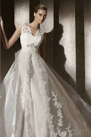 wedding dress overlay v neck mermaid satin vintage wedding dress with gorgeous lace