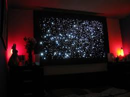 awesome bedroom ceiling lights stars fiber optic ceiling lights 29