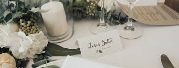 place cards wedding wedding place cards reception name cards professionally printed