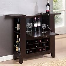 Flip Top Bar Cabinet Fold Away Wooden Bar Cabinet Wine Storage Cupboard Flip Top