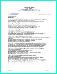 Construction Project Manager Resume Objective Awesome What Engineering Resume Are There Ideas Sample Resumes