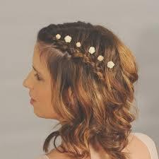 hair flowers ivory flower hairpins small wedding hair flowers bridal hair
