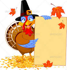 Free Thanksgiving Powerpoint Backgrounds Thanksgiving Turkey With Note Thanksgiving Flyer Free