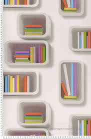 bibliotheque chambre enfant papier peint bibliothèque en cubes papier peint aventures lutèce
