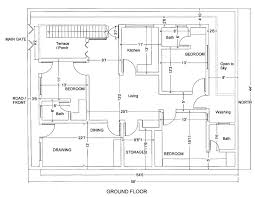 marla house plan civil engineers building plans online 40466