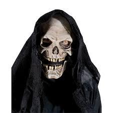 spirit halloween wigs grim reaper mask