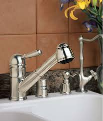 rohl pull out kitchen faucet rohl r77v3pn polished nickel country kitchen faucet with pull out