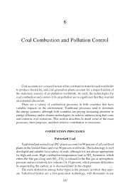 6 coal combustion and pollution control energy futures and urban