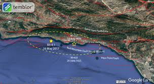 Santa Barbara California Map M U003d4 1 Santa Barbara Earthquake Highlights Local Quake Hazards