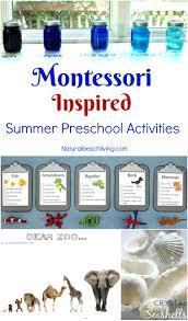 12 montessori june preschool themes perfect for summer natural