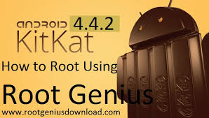 how to root android 4 4 2 onc click root genius how to root android kitkat 4 4 2 using root