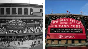 Chicago Cubs Seat Map by Wrigley World Series Game How Ballpark Has Changed Chicago Tribune