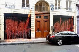 Home Design Stores Paris French Graffiti Artist Kidult Vandalized Kanye Wests Pop Up Shop